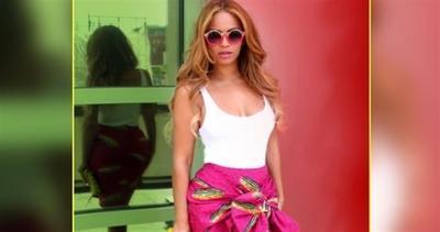 Beyonce: foto da capogiro...in rosa!