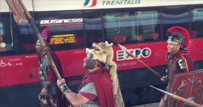 Gli Antichi Romani prendono il treno alla conquista di Expo ...