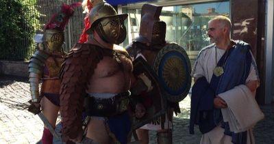 """Gli antichi romani invadono Expo, Nerone: """"Siamo la ..."""