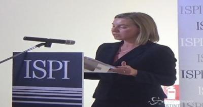 Mogherini: In mondo  di mobilitazioni e di hashtag non si ...