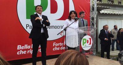 Manifestanti contestano Renzi a La Spezia su riforma scuola ...