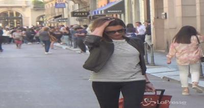 Alena Seredova in versione casual in via Montenapoleone: la ...