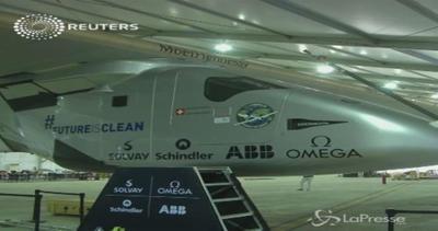 Solar Impulse ritarda partenza da Nanchino in Cina