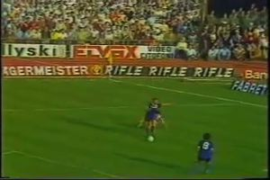 Verona 1984-85: il gol senza scarpa di Elkjaer