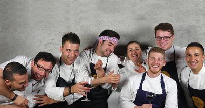 Otto giovani ambasciatori della cucina calabrese con ...