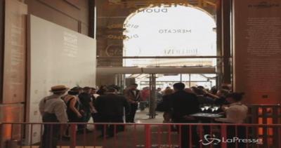 Il 'Mercato del Duomo' apre al pubblico: festa di ...