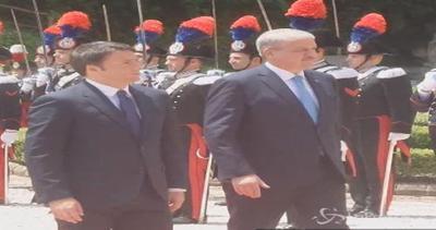 Renzi 'poliglotta' con primo ministro algerino: ...