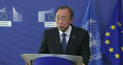 Ban Ki-Moon: no alla distruzione dei barconi dei migranti   ...