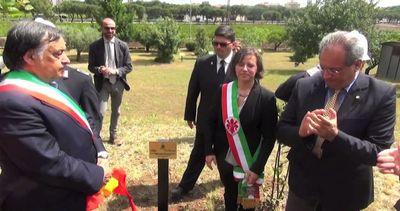 Al Giardino Memoria di Palermo albero per vittime strage ...