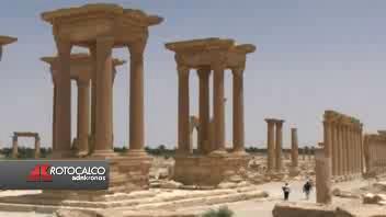 Palmira, patrimonio Unesco sotto l'attacco ...