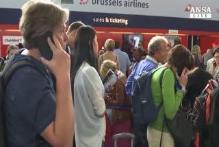 Black-out nei cieli belgi, 35mila passeggeri a terra