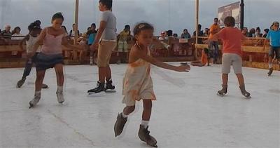 Pattinare sul ghiaccio a Cuba. Davvero?