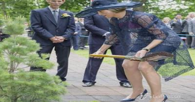 Maxima d'Olanda giardiniera per un giorno, ma sui ...