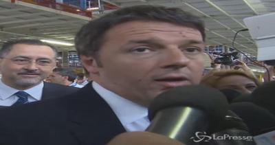 Fca, Renzi: Per il lavoro servono fabbriche, non talk show. ...
