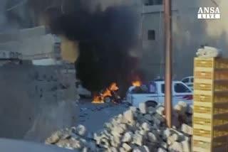 Iraq, 2 autobomba in parcheggi hotel: 10 morti