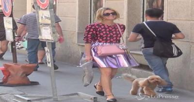 Elena Barolo e il suo look glamour-etno-chic a Milano