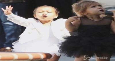 North e Penelope: le cuginette Kardashian insieme a lezione ...