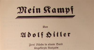 Paesi Bassi, chi vende il Mein Kampf rischia la galera