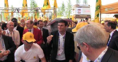 Javier Zanetti a Expo, con Sala e gli chef per Coldiretti   ...
