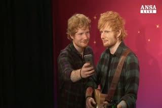 Ed Sheeran svela il suo sosia di cera a NY