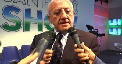 Regionali, De Luca su sua impresentabilità: Sono ...