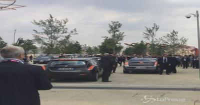 Cameron arrivato a Expo per incontro con Renzi