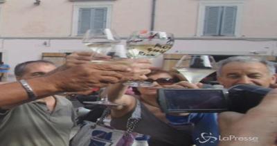 Rione Monti brinda per i 90 anni di Napolitano
