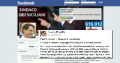 Sicilia, Crocetta: chiedere scusa per un pizzino fuori da logica