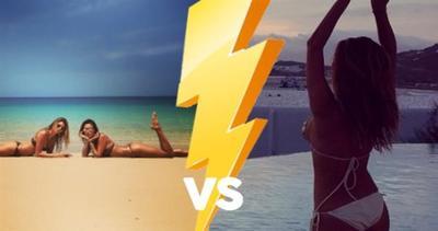 Sexy sfida tra cantante e modella. Chi vince?