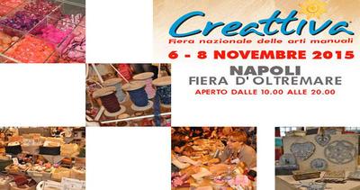 Napoli Creattiva, a novembre la fiera per i creativi di ...