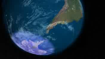 Ecco la mappa dei buchi nell'ozono
