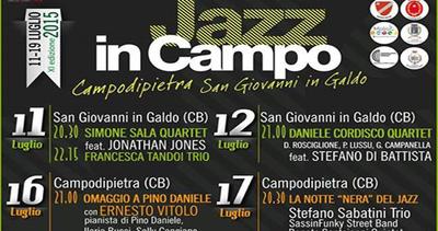 Jazz in Campo, all'undicesima edizione arrivano Stefano ...