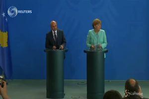 """Crisi Grecia, Merkel: """"Non ci sono ragioni convincenti per ..."""