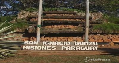 Paraguay accoglie il Papa con maxi altare di mais, grano e ...