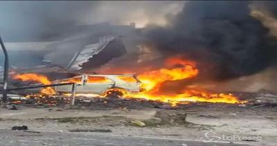 Il video amatoriale dello schianto del C-130 in Indonesia: ...