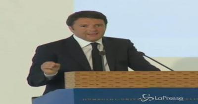 Renzi: Non siamo gentleman educati, la politica è sangue