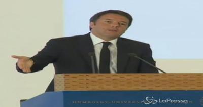 Mediterraneo brucia e affoga insieme: il discorso di Renzi ...