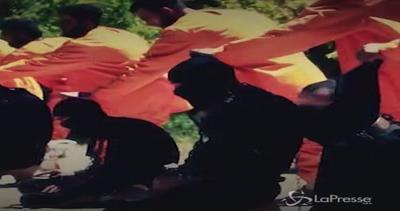 Membri dell'Isis fucilati da Esercito ribelle Islam: i boia ...