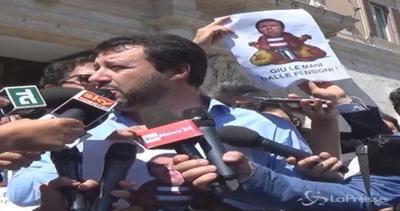 Salvini: Fossi greco a referendum voterei 'no
