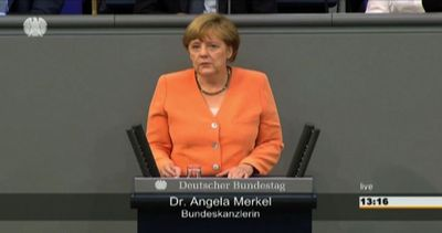 Grecia, la Merkel rassicura: il futuro dell'Europa non è ...