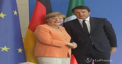 Grecia, Merkel: Porte aperte ma servono riforme. Renzi: ...
