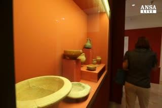 All'Ara Pacis in mostra il menu' degli antichi romani