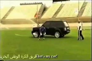 Folle allenamento in Bahrain: il portiere difende il Range ...