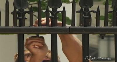 Casa Bianca più sicura: punte metalliche sulla recinzione ...