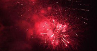 Libano, fuochi d'artificio per l'inizio del Festival di ...
