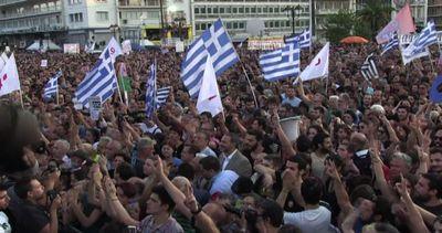 Grecia, Atene: 25mila in piazza per no referendum, 20mila ...