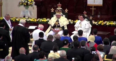 Tupou VI è stato incoronato ufficialmente re di Tonga