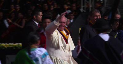 Il Papa in Ecuador: in 7 giorni oltre 24mila km, folla a ...