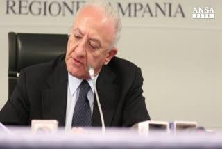 De Luca presenta nuova Giunta Campania