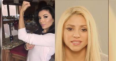 Shakira e Eva Longoria schiacciano Donald Trump